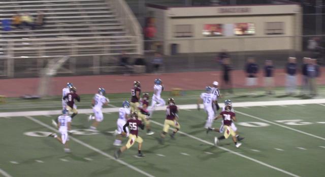 Walnut High School Varsity Football falls to West Covina High School 29-13