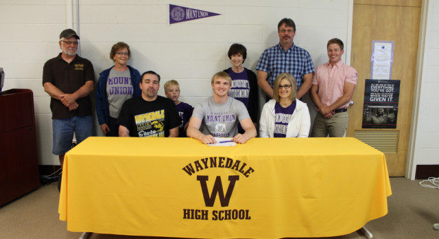 Kyle Ice Heading to Mount Union