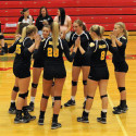 Waynedale Varsity Volleyball vs. Norwayne 9/28/17
