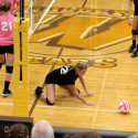 "Waynedale Varsity Volleyball vs. Smithville ""Volley-for-the-Cure"" 9/26/17"