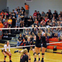 Waynedale Varsity Volleyball vs. Dalton 10/10/17