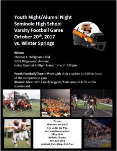 Youth Night and Alumni Night