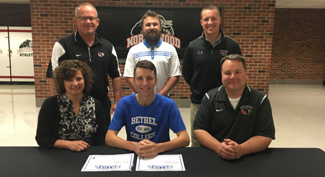 Nick Sherk signs with Bethel College!