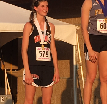 Erica Stutsman earns 3rd Place Finish at State Finals!