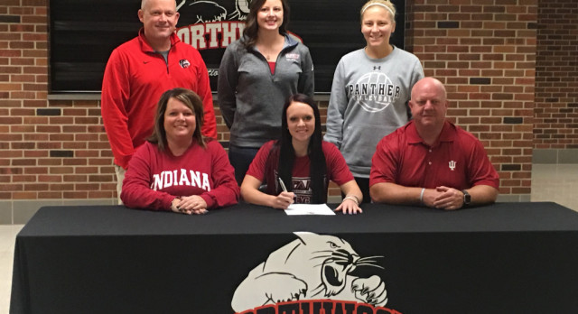 Courtney Lengacher signs with Indiana University South Bend!
