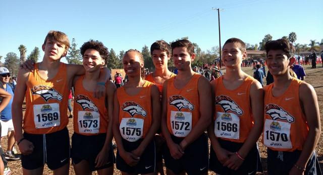 Boys XC takes 3rd, advances to CA State meet!