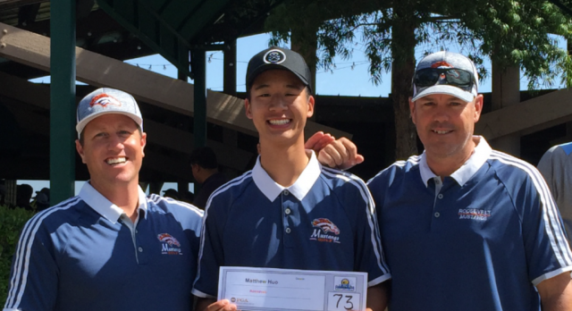 Matthew Huo shoots 73 to Qualify for CIF Finals