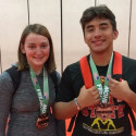 Mustang Wrestlers at the Freakshow Tournament Las Vegas NV. Oct. 21-22 2017