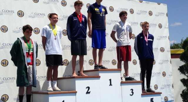 Cody Dreesen 5th in State, for Diving