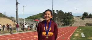Marian Ledesma Breaks 33 Year Old School Record