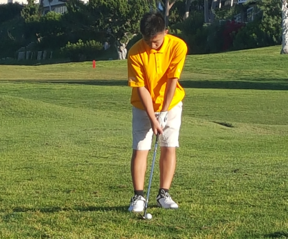 Boy's Golf – Brian Lee Palomares League Honorable Mention