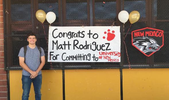 Matt Rodriguez Commits To University of New Mexico