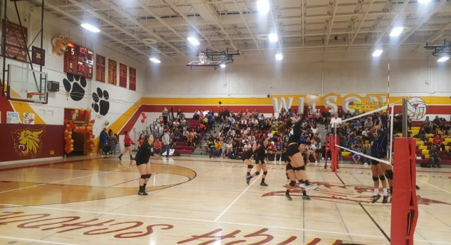 Volleyball Finishes the Year Strong Beating Rowland in 3 Sets!