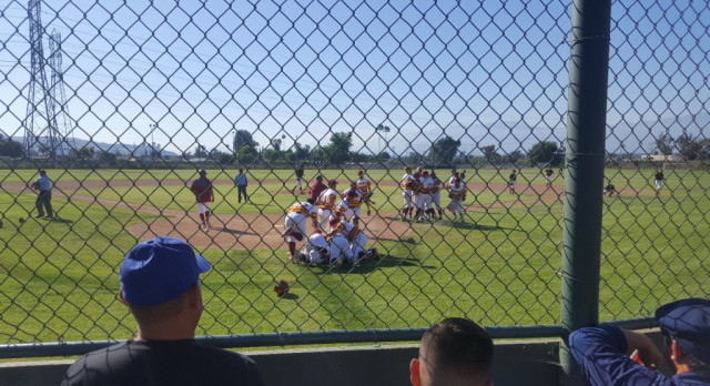 Baseball Wins! On to the  Quarterfinals!