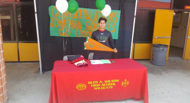 University of La Verne Football Signing