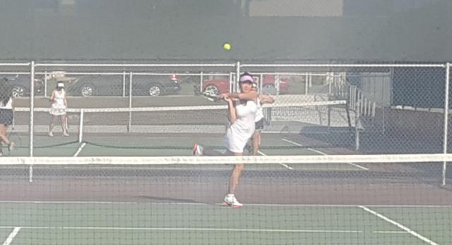 Wilson/Hacienda Heights Girls Varsity Tennis beat Baldwin Park High School 18-0