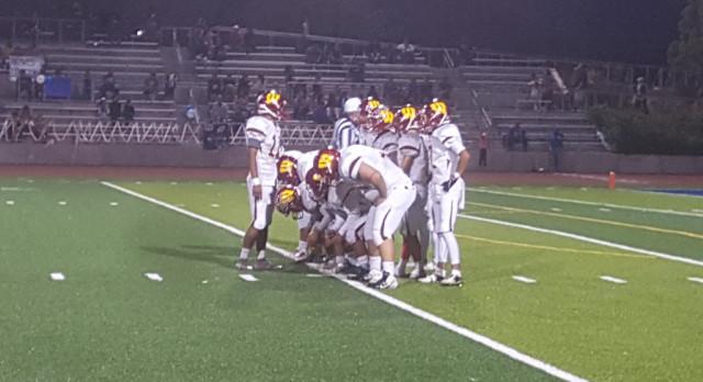 Wilson/Hacienda Heights Varsity Football beat Baldwin Park High School 27-14