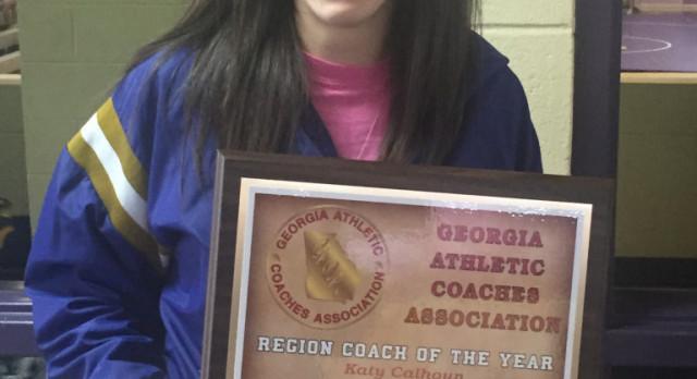 Fitzgerald's Calhoun Region Coach of the Year!