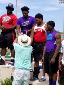 Jason Poe 2nd Place Shot Put