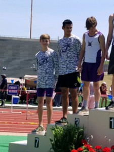 Ronald Garcia 5th Place & Parker Carrigan 7th Place Pole Vault