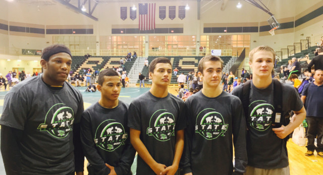 5 Wrestlers Heading to State