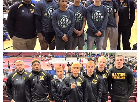 Wrestling State Placers