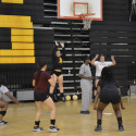 Spring Volleyball Practice
