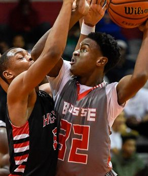 Bosse Boys Varsity Basketball falls to Castle in SIAC Tournament 99-89