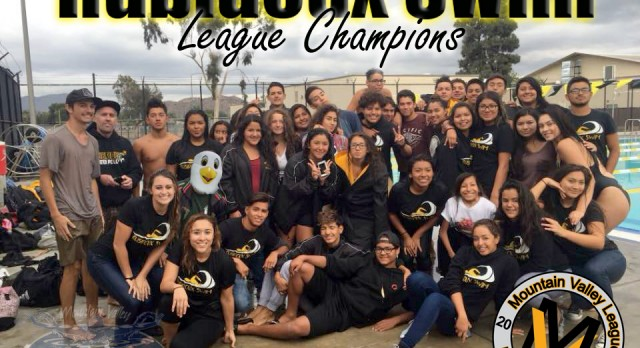Falcon Swim goes undefeated in league 8-0!
