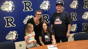 Morgann Wilson Sets School Record in 100 hurdles