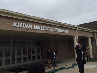 Jordan Burroughs Gym Dedication