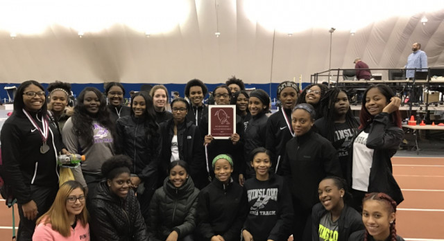 Congratulations to the girls track team!!