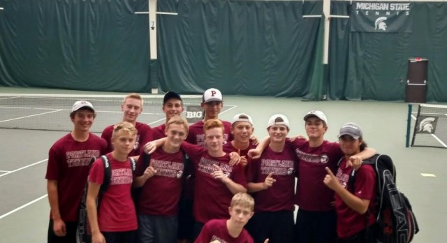 Boys Tennis Advances to the State Finals