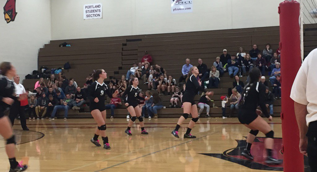 Volleyball Loses to Williamston But Not Without a Fight
