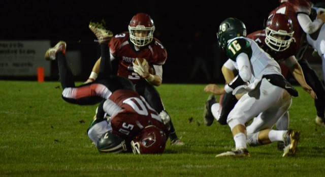 Football Pounds Calvin Advancing to District Final