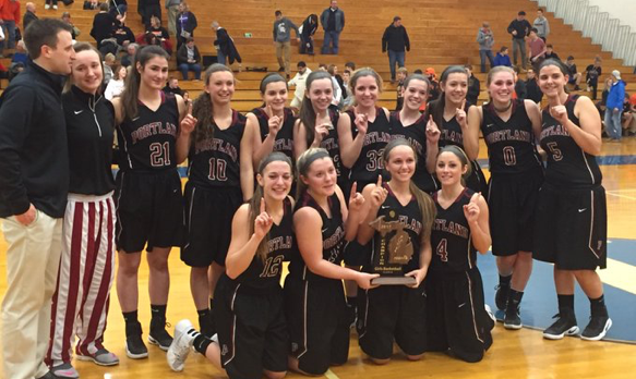 Girls Basketball Takes Home the District Championship