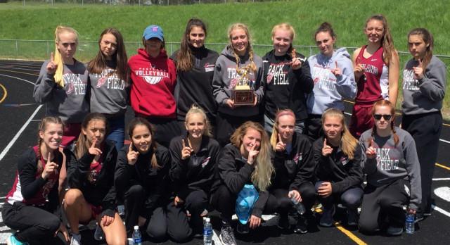 Girls Track Wins Spring Sport Carnival; Boys 3rd
