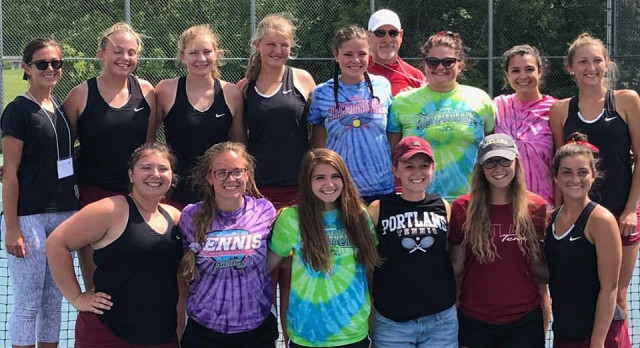 Girls Tennis Finish 5th in the State