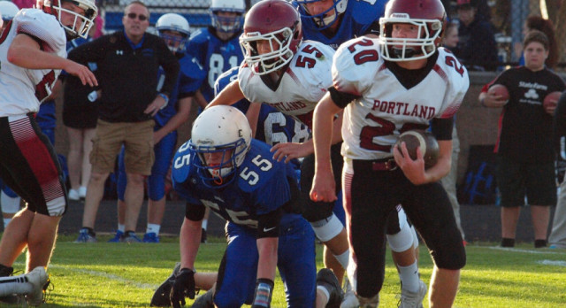 JV Football Remains Undefeated at Ionia