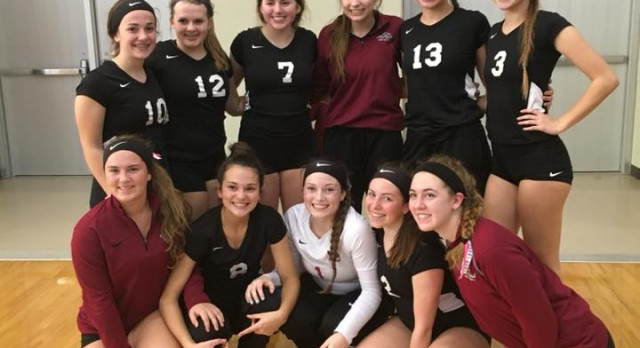 JV Volleyball Wraps Up First Place in White