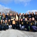 Varsity Cheer Prepares to leave for the 2017 State Finals