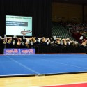 Team Back Tuck at State Finals