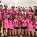 Adams Varsity Volleyball Champions of Frankenmuth Invite