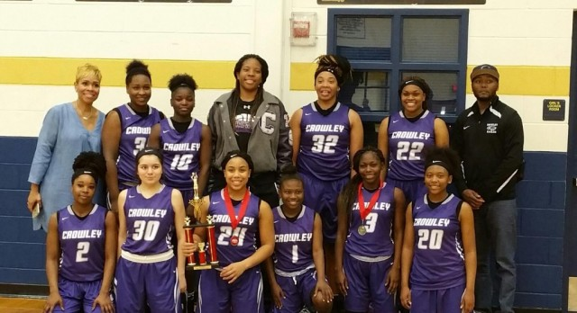 Lady Eagles Take Third Place at Copperas Cove Tourney