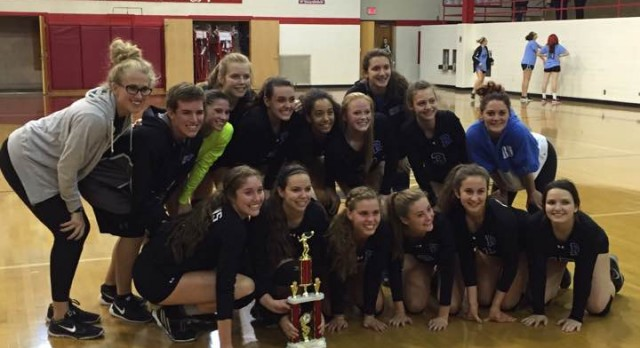 Volleyball Wins Port Huron Tournament