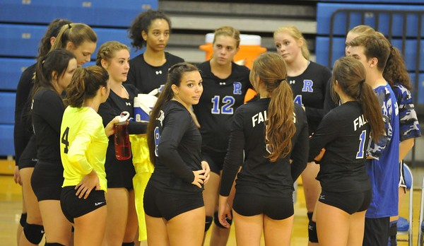 Volleyball Sweeps Hazel Park