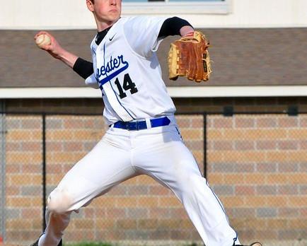 Baseball Pounds Rival Behind Jackson's No Hitter