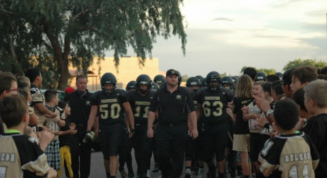 Apache Junction High School Varsity Football falls to Seton Catholic High School 14-12