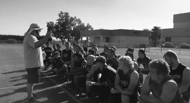 Apache Junction High School Varsity Football falls to Higley High School 73-20