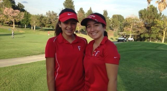 Fullerton High School Girls Varsity Golf falls to Troy High School 212-291